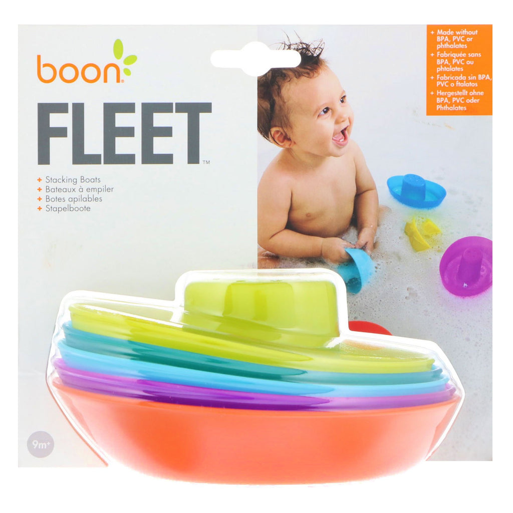 Fleet - Stacking Boats by Boon Boon Toys