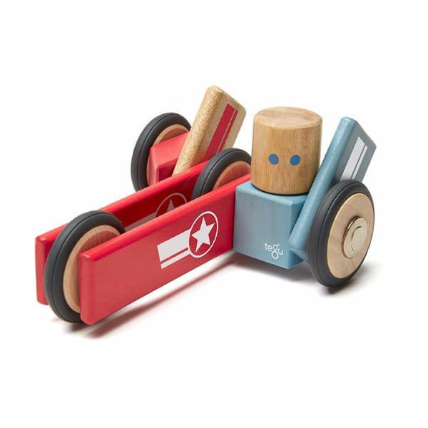 Magnetic Block Set Daredevil by Tegu - Pacifier