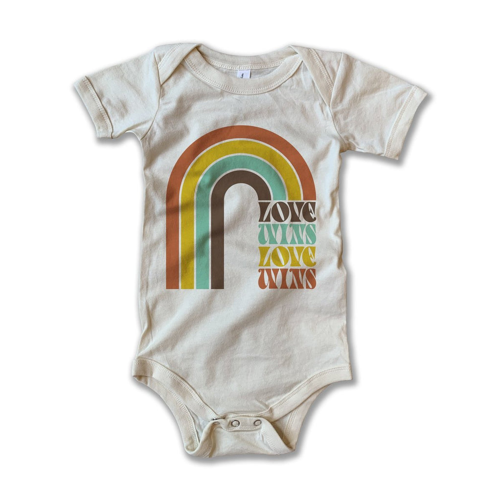 Love Wins Onesie by Rivet Apparel Co.