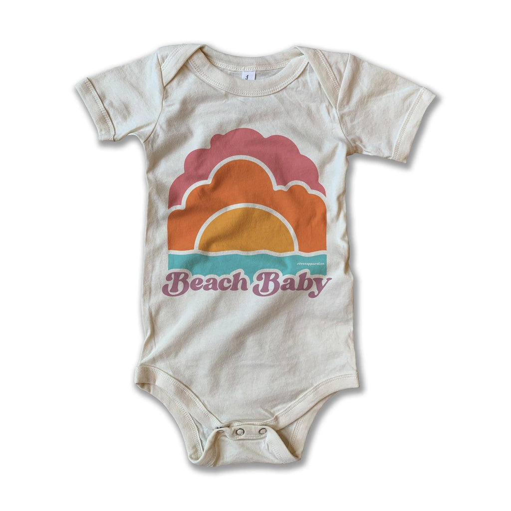 Beach Baby Onesie by Rivet Apparel Co.