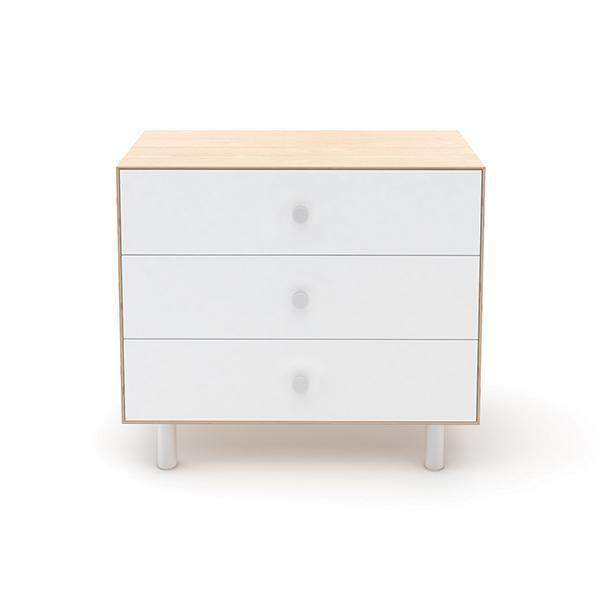 Classic 3 Drawer Dresser - Birch / White by Oeuf