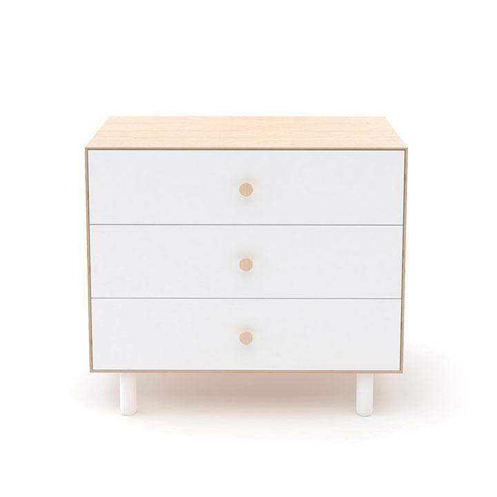 Fawn 3 Drawer Dresser - Birch / White by Oeuf Oeuf Furniture