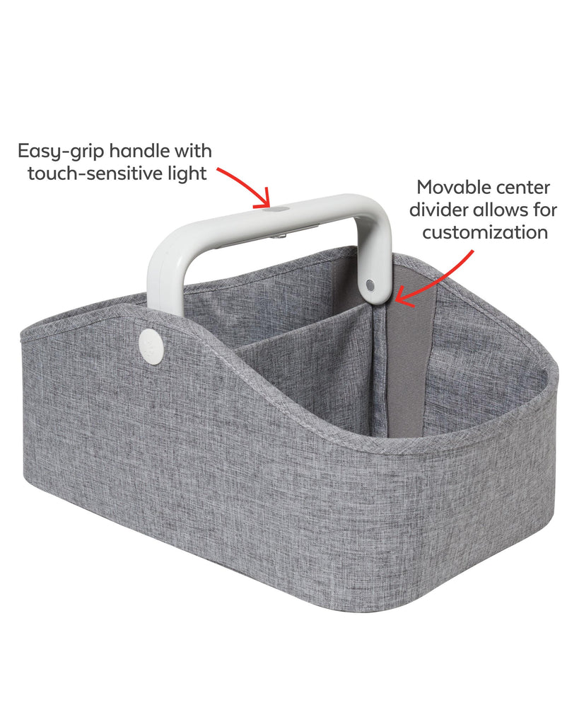 Nursery Style Light Up Diaper Caddy by Skip Hop