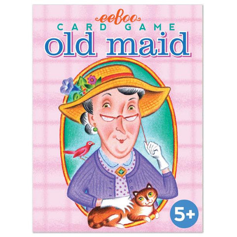 Old Maid Playing Cards by Eeboo