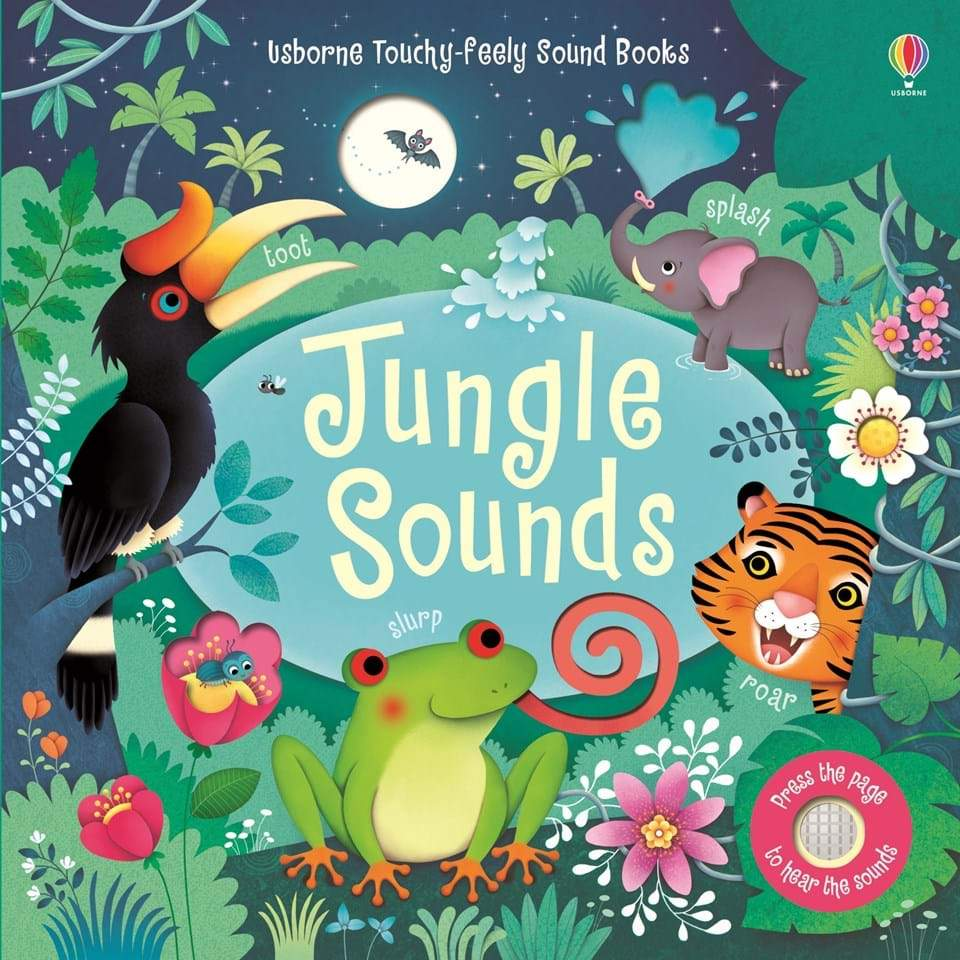 Jungle Sounds - Board Book Usborne Books Books