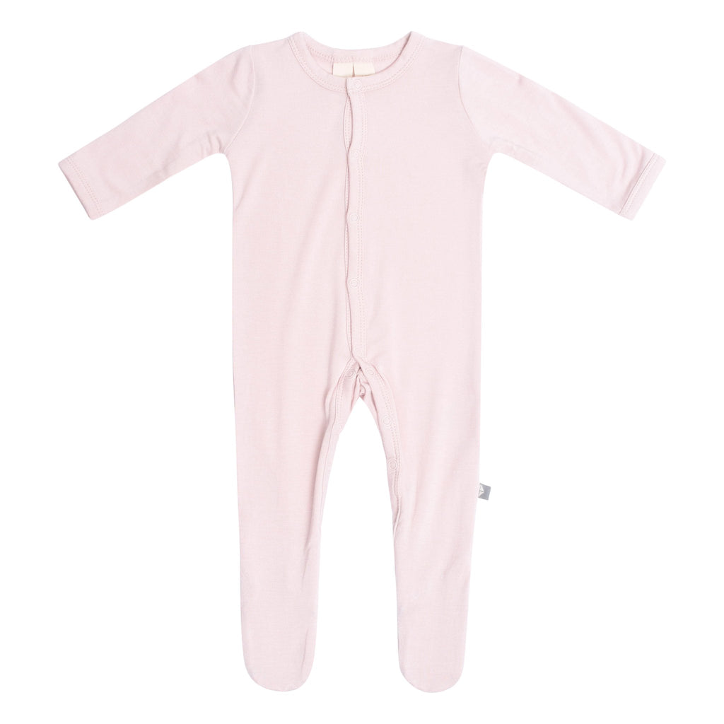 Solid Footie - Blush by Kyte Baby Kyte Baby Apparel