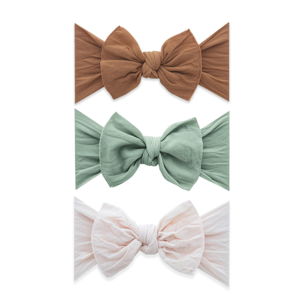 Headband 3 Pack - Camel + Sage + Petal by Baby Bling