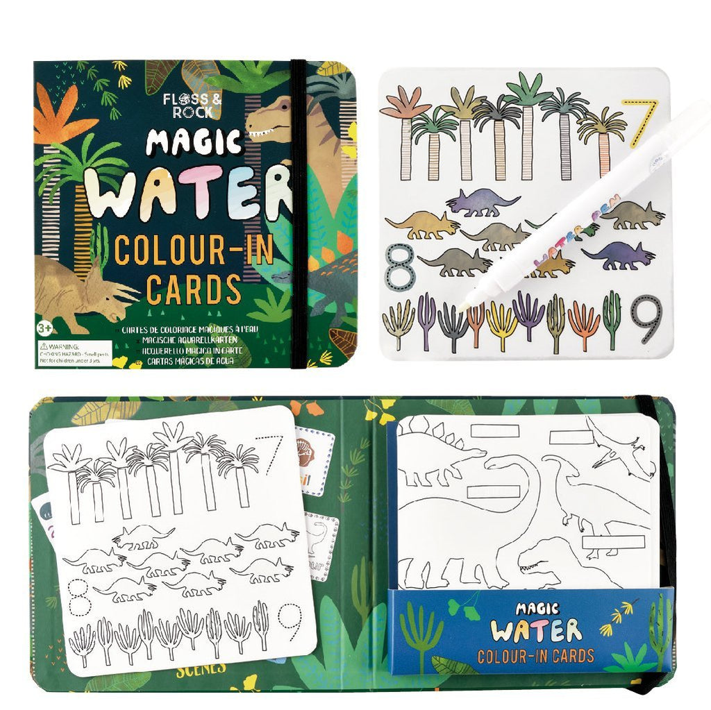Water Colour-In Cards by Floss & Rock