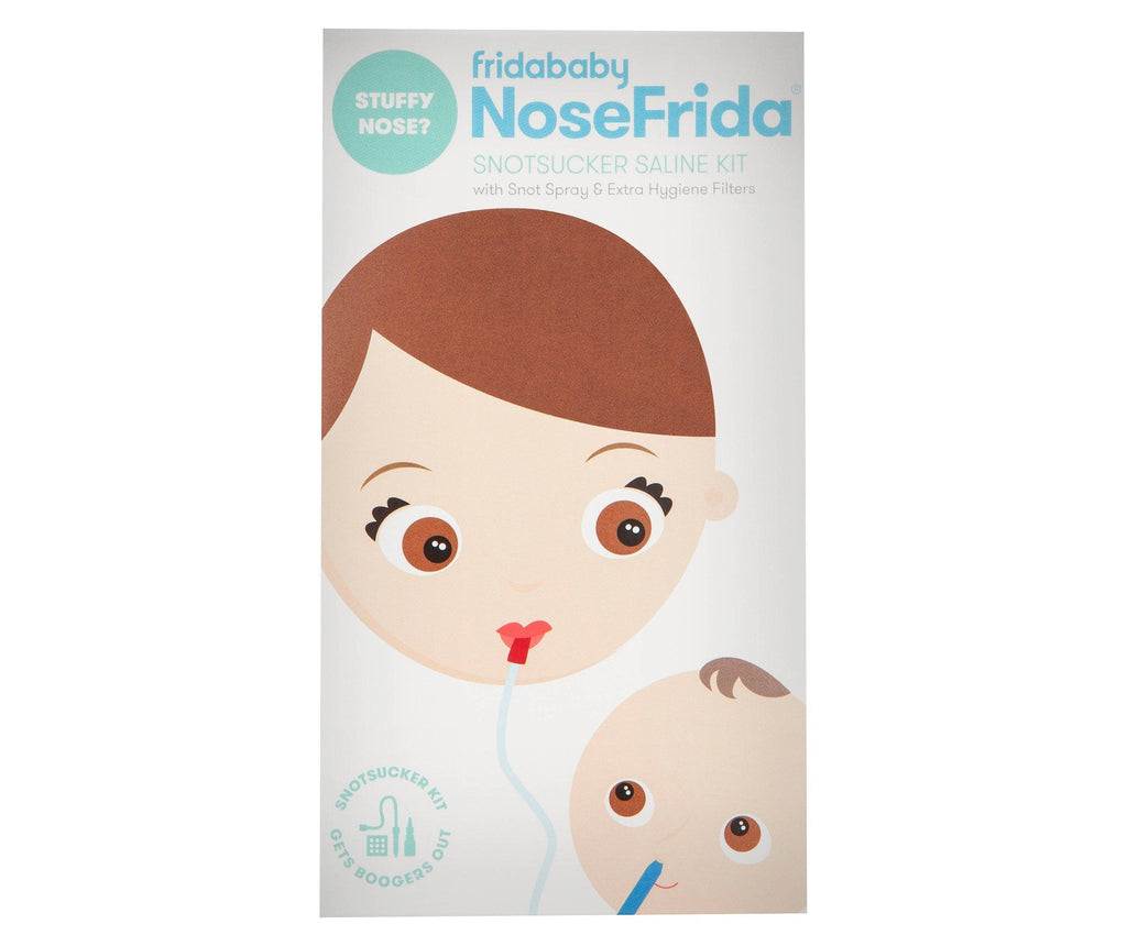 Nosefrida SnotSucker Saline Kit - Pacifier
