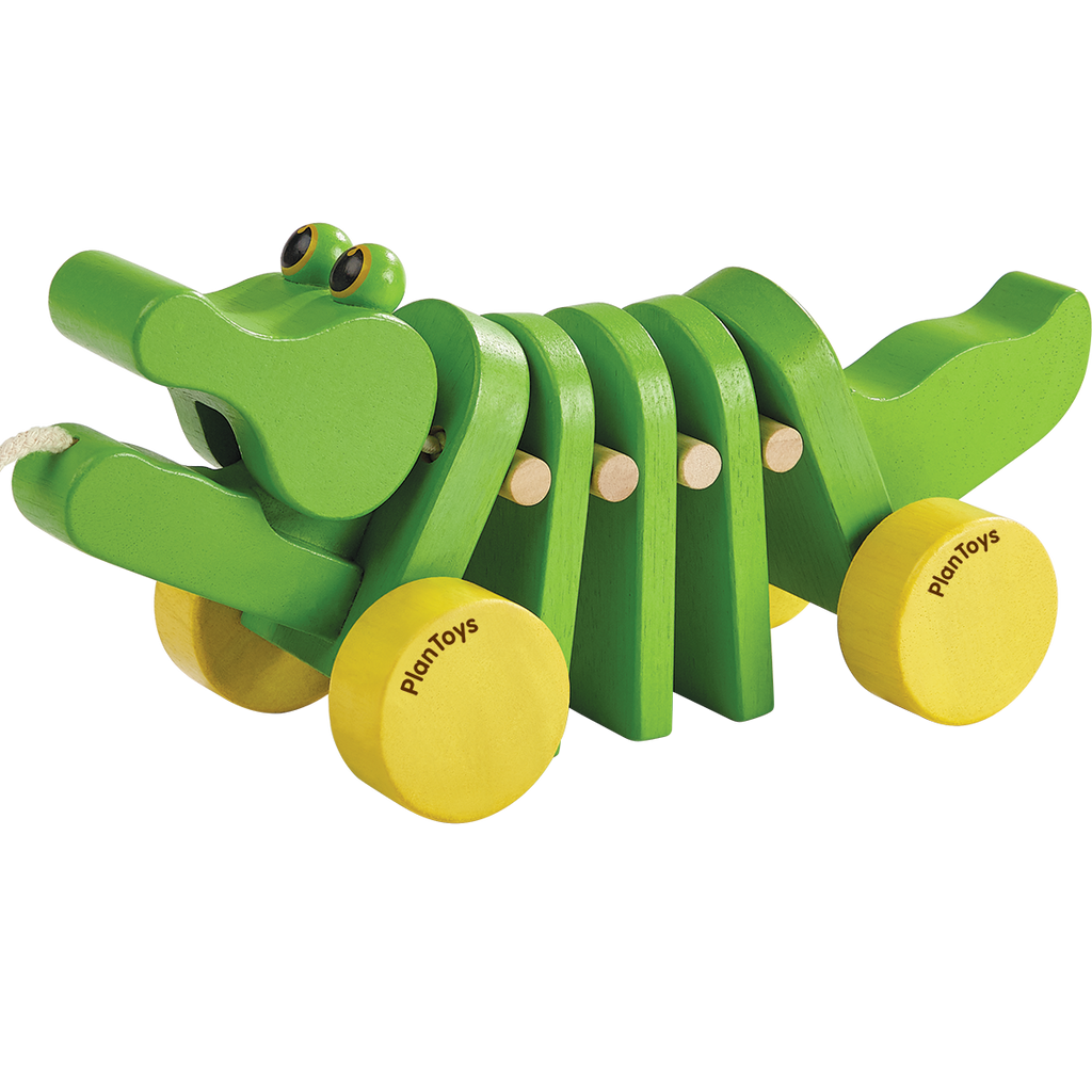 Dancing Alligator Pull Toy by Plan Toys