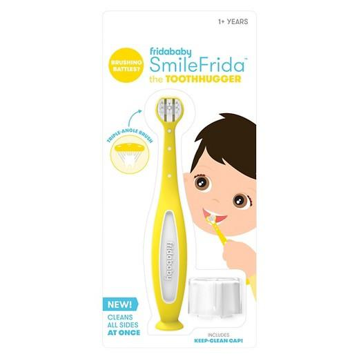 SmileFrida Tooth Brush - Yellow by Fridababy Fridababy Bath + Potty