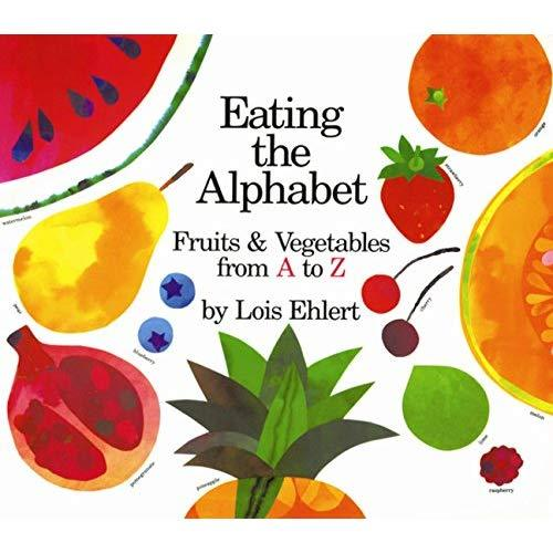 Eating the Alphabet - Board Book