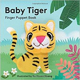 Baby Tiger - Finger Puppet Board Book Chronicle Books Books