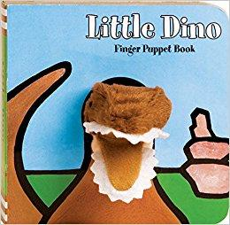 Little Dino - Finger Puppet Board Book