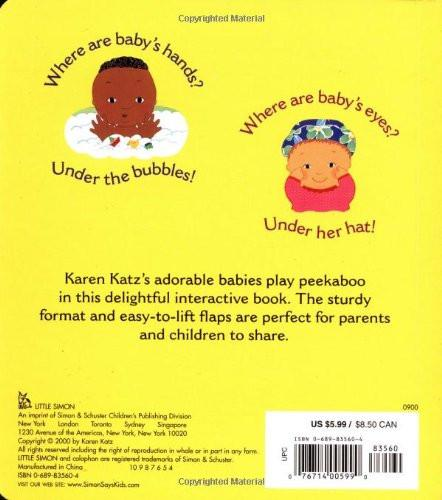 Where Is Baby's Belly Button? Lift the Flap Board Book Simon + Schuster Books