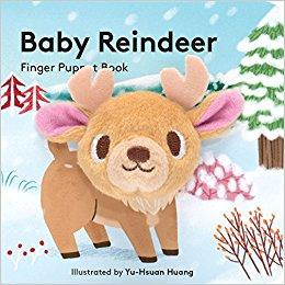 Baby Reindeer - Finger Puppet Board Book Chronicle Books Books