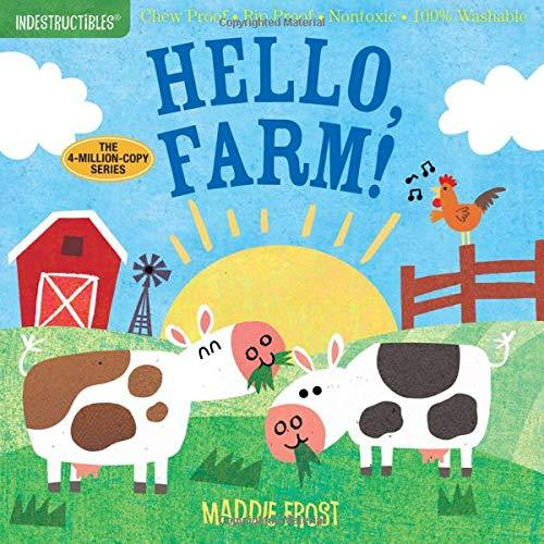 Indesctructibles Book - Hello Farm! Workman Publishing Books
