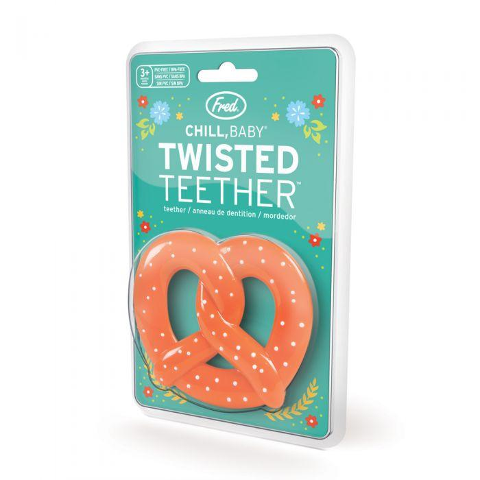 Chill Baby Teether - Pretzel by Fred + Friends Fred + Friends Toys