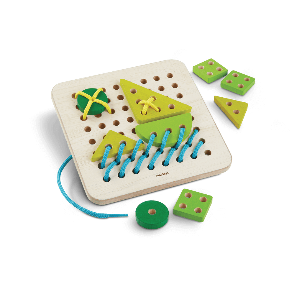 Lacing Board by Plan Toys