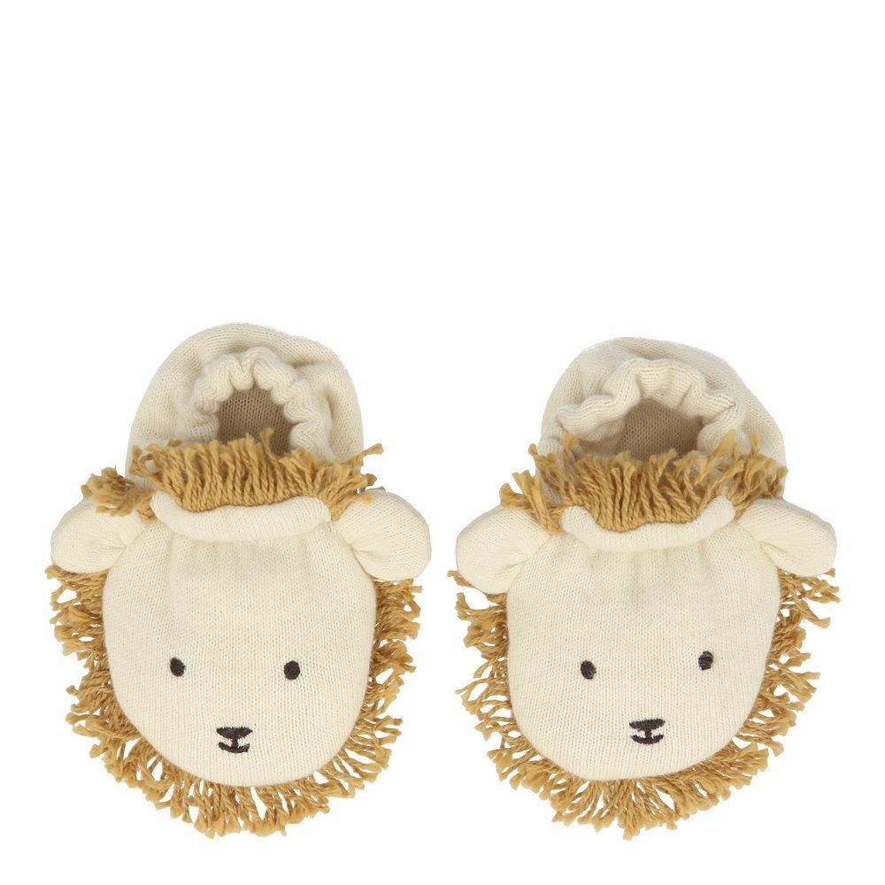 Lion Baby Booties by Meri Meri