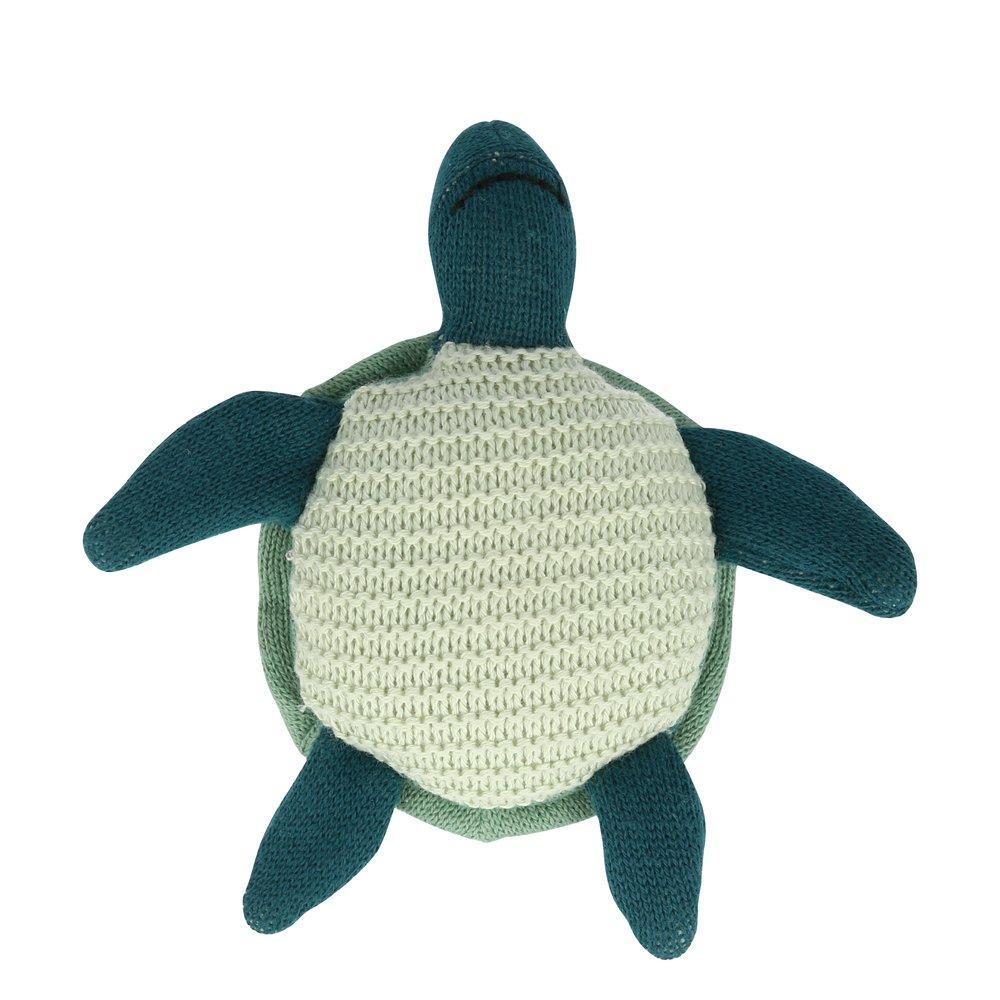 Sea Turtle Baby Rattle by Meri Meri