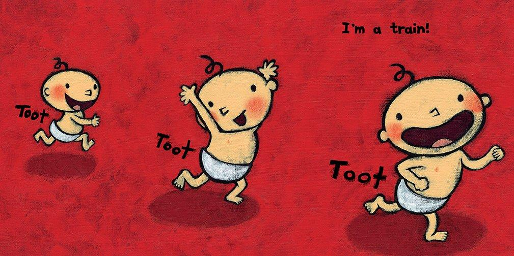 Toot - Board Book