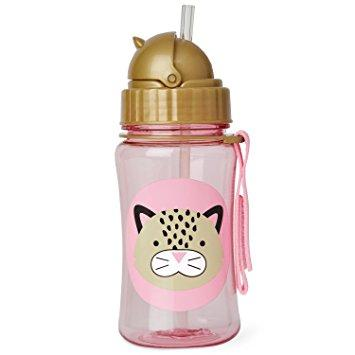 Zoo Straw Bottle - Leopard by Skip Hop