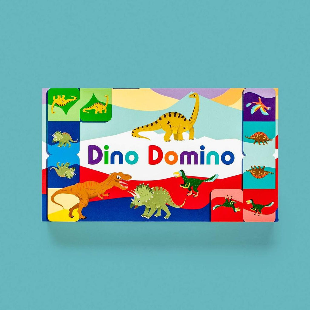 Dino Domino Game Chronicle Books Toys