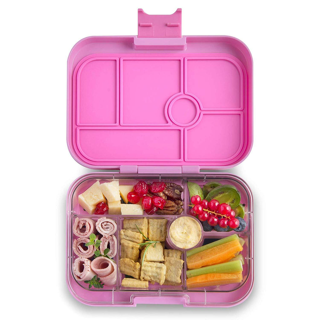 Yumbox Leakproof Bento Box - 6 Compartment - Stardust Pink