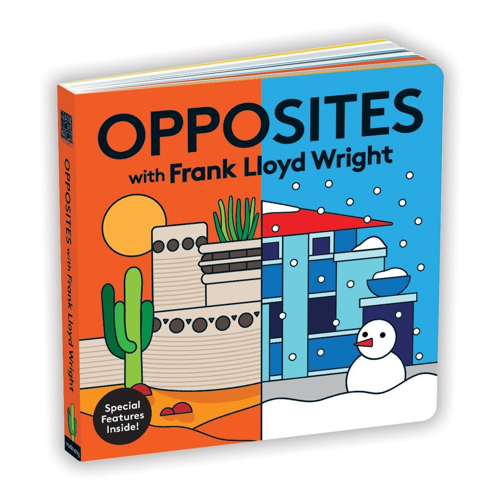 Opposites with Frank Lloyd Wright - Board Book Chronicle Books Books