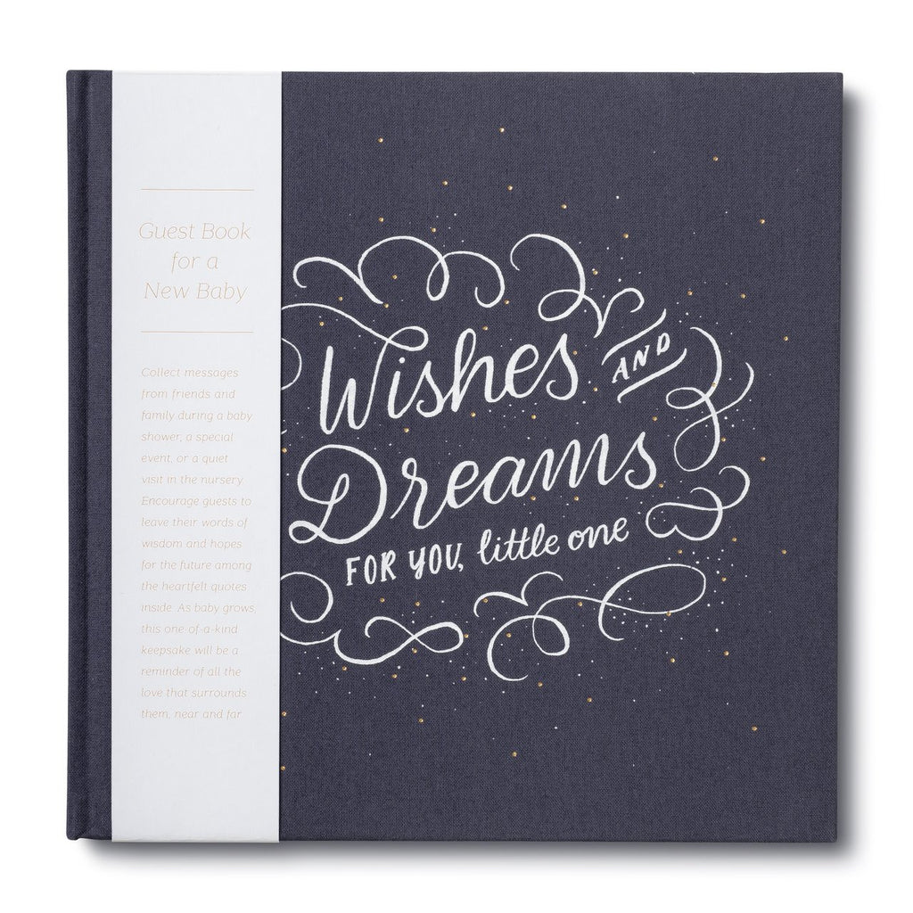 Wishes and Dreams for You Little One Book by Compendium Compendium Books