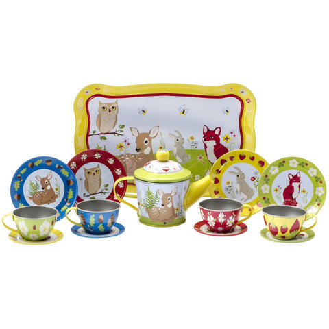 Forest Friends Tin Tea Set by Schylling - Pacifier