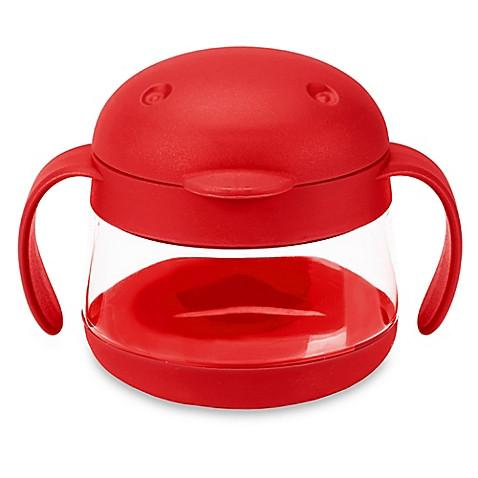 Ubbi Tweat Snack Container - Red - Pacifier
