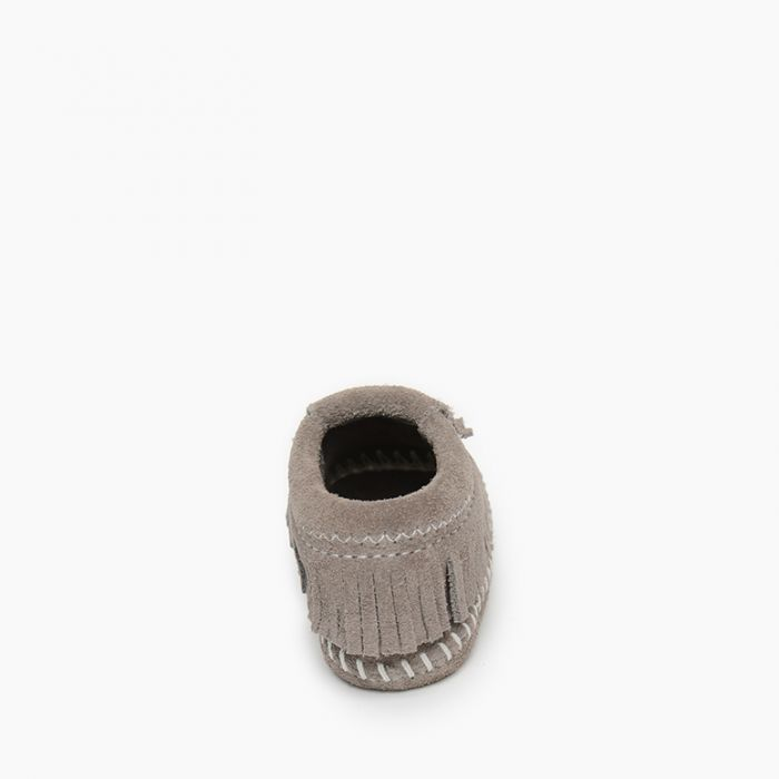 Riley Bootie - Grey by Minnetonka Moccasin