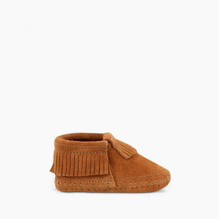 Riley Bootie - Brown by Minnetonka Moccasin