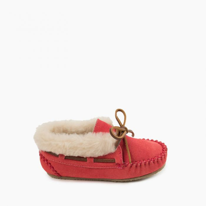 Charley Slipper  - Hot Pink by Minnetonka Moccasin