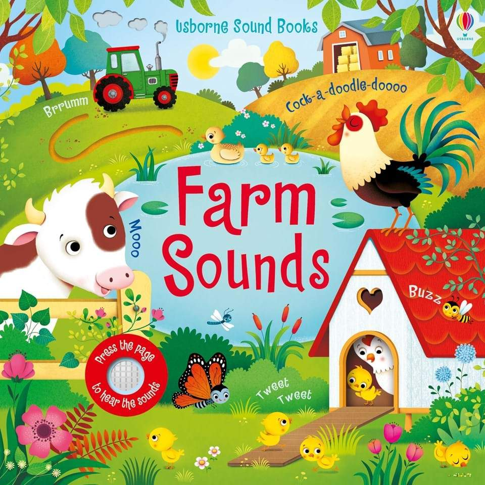 Farm Sounds - Board Book Usborne Books Books