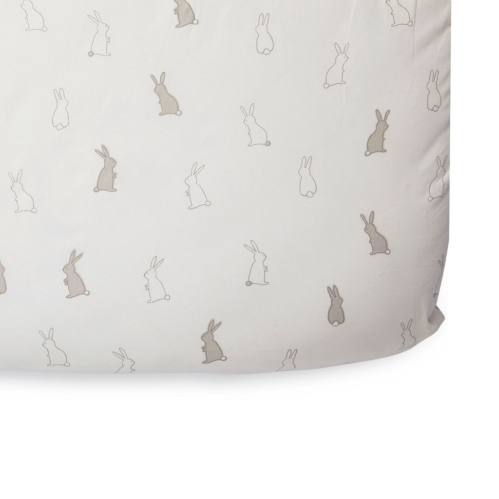 Organic Bunny Hop Crib Sheet by Pehr