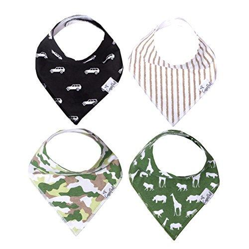 Single Bandana Bib - Safari by Copper Pearl