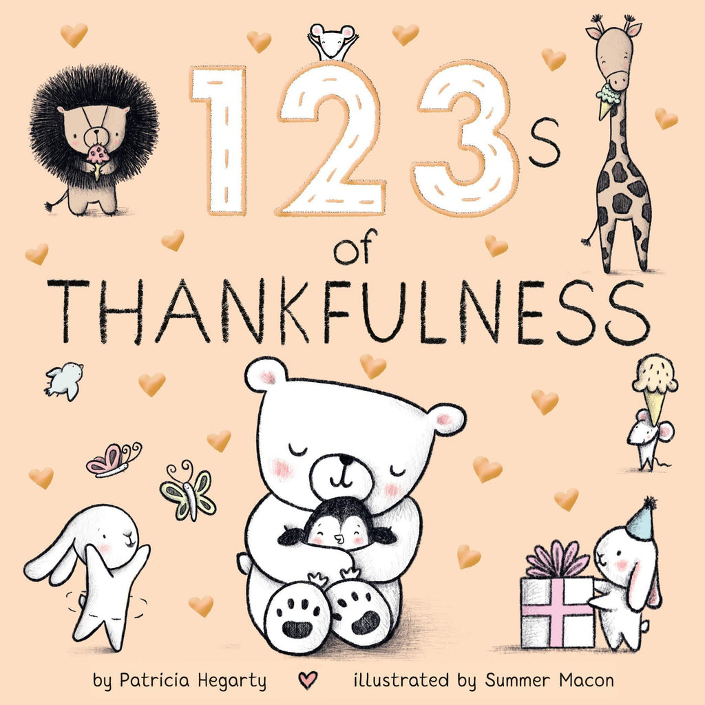 123s of Thankfulness - Board Book