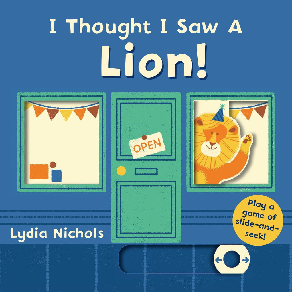 I Thought I Saw A Lion - Board Book Random House Books