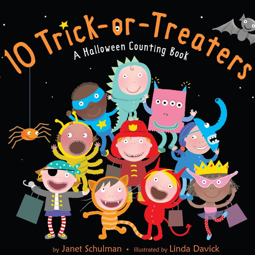 10 Trick-or-Treaters - Board Book