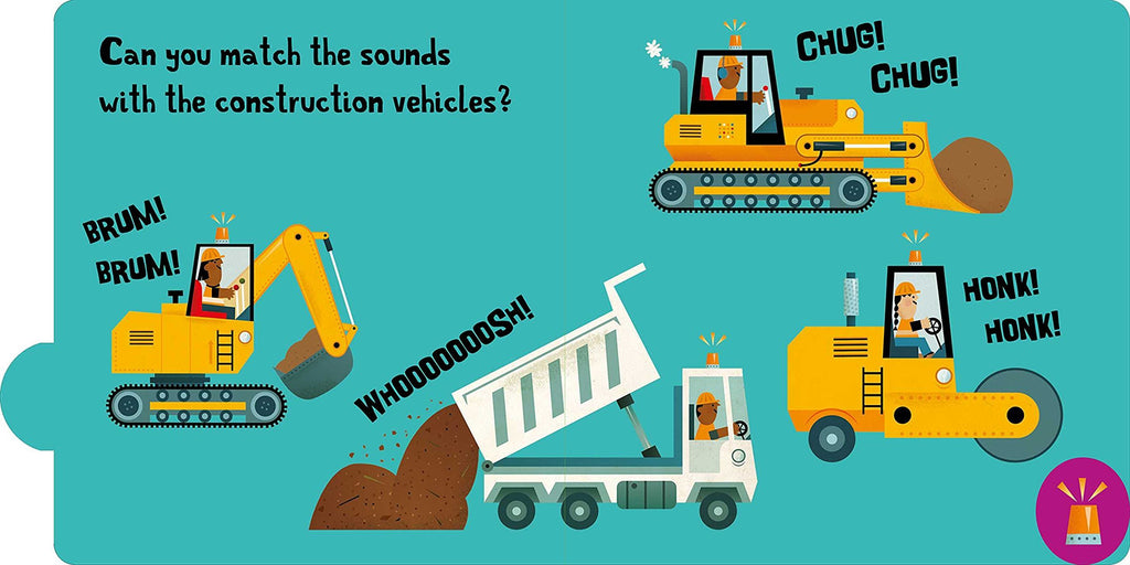 Noisy Tabs!: Construction - Board Book Simon + Schuster Books
