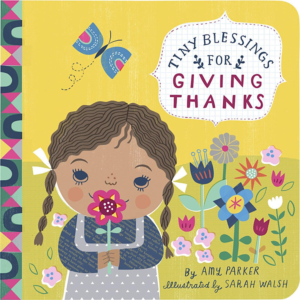 Tiny Blessings for Giving Thanks - Padded Board book - Pacifier