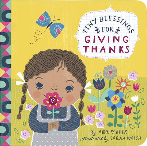 Tiny Blessings for Giving Thanks - Padded Board book