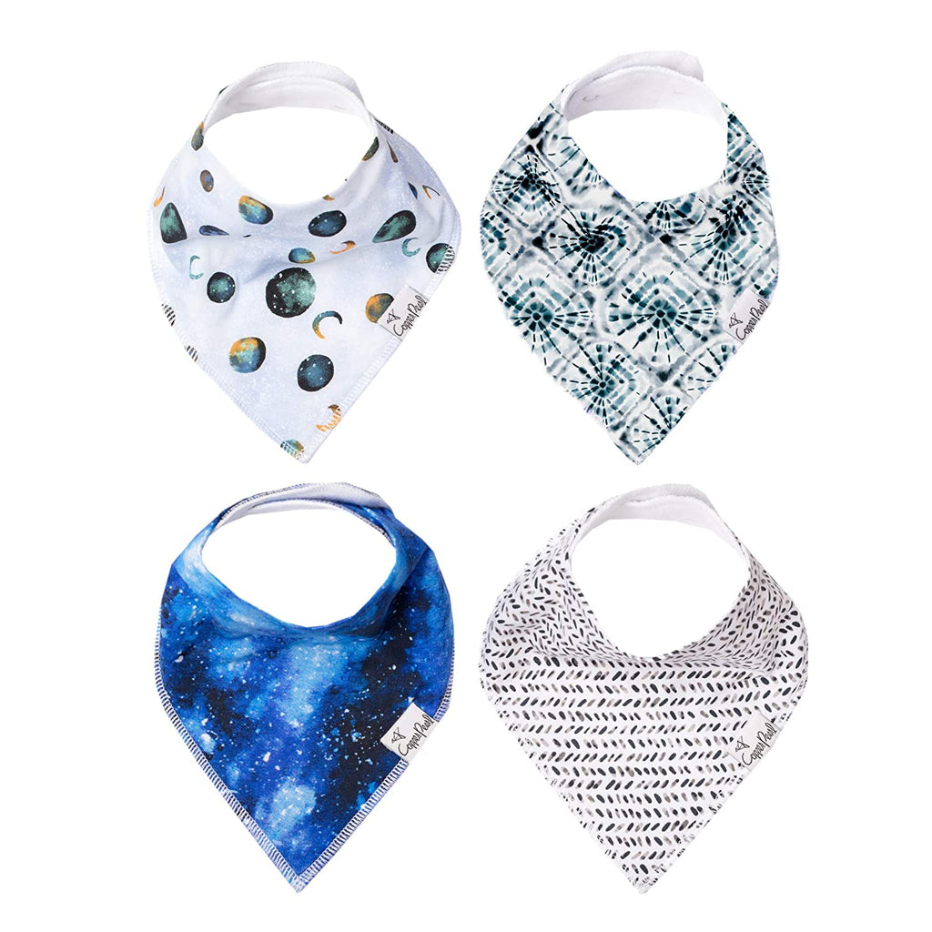 Single Bandana Bib - Galaxy by Copper Pearl