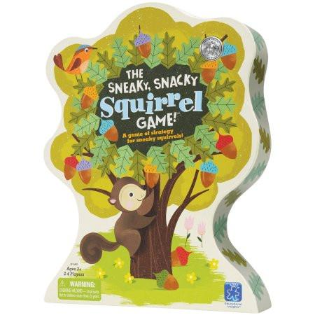 The Sneaky Snacky Squirrel Game - Pacifier