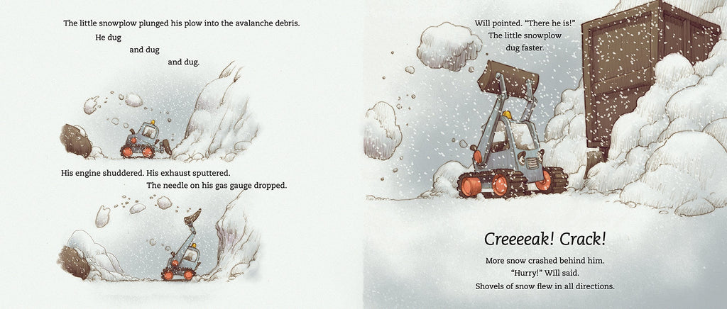 Little Snowplow - Hardcover