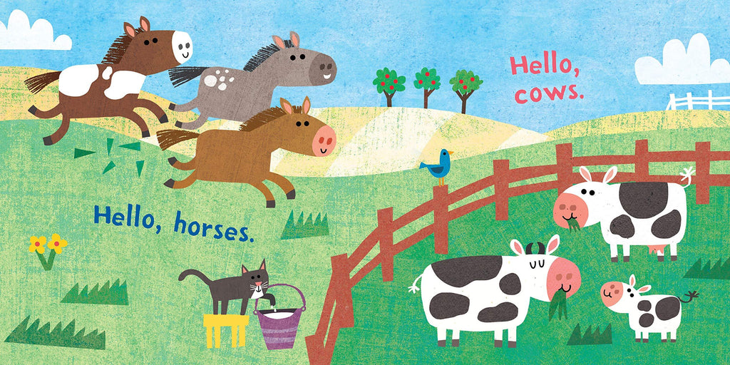Indesctructibles Book - Hello Farm!