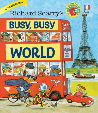 Busy, Busy World - Hardcover - Pacifier
